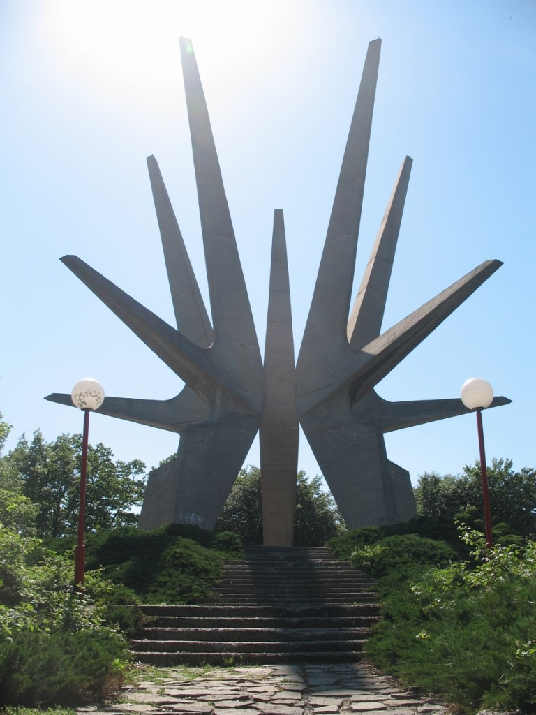 Monument to Kosmaj partisan division from WWII