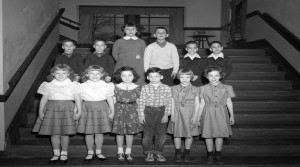 William Fox School, twins and grads